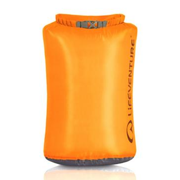 Orange LIFEVENTURE Ultralight 15L Dry Bag