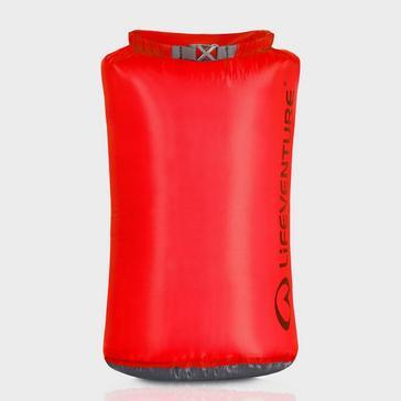 Red LIFEVENTURE Ultralight 25L Dry Bag