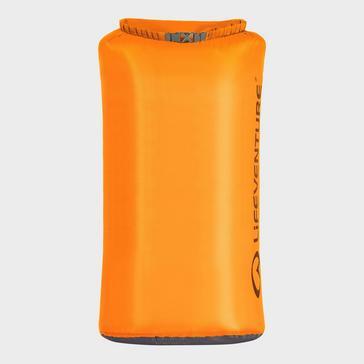 Orange LIFEVENTURE Ultralight 75L Dry Bag