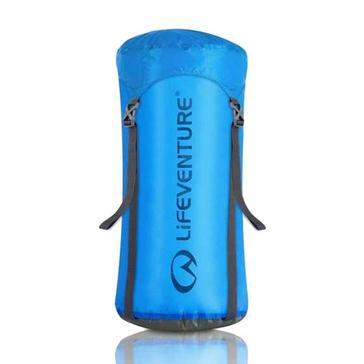 Blue LIFEVENTURE Ultralight 10L Compression Sack