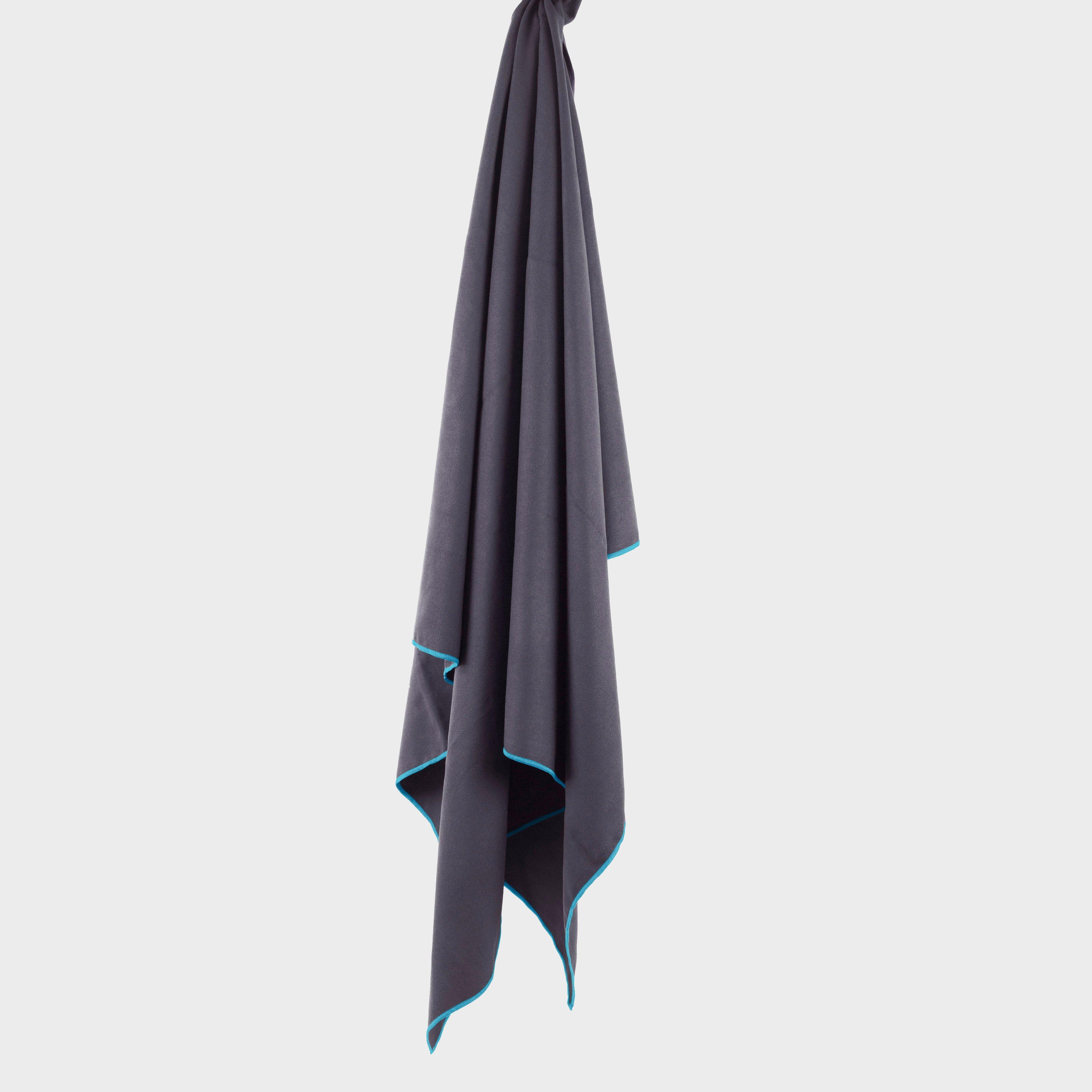 Lifeventure Lifeventure Softfibre Lite Grey Travel Towel (Large), Grey