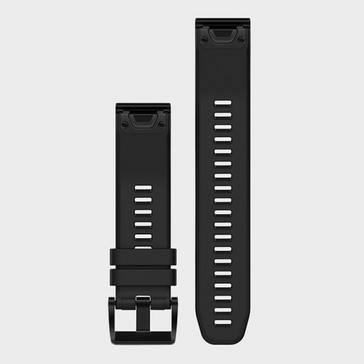 Black Garmin QuickFit 22 Watch Band