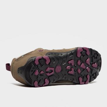 Brown Hi Tec Women's Saunter Waterproof Walking Shoes