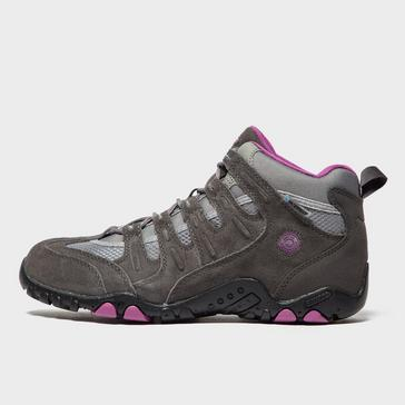 Brown Hi Tec Women's Saunter Waterproof Walking Boots