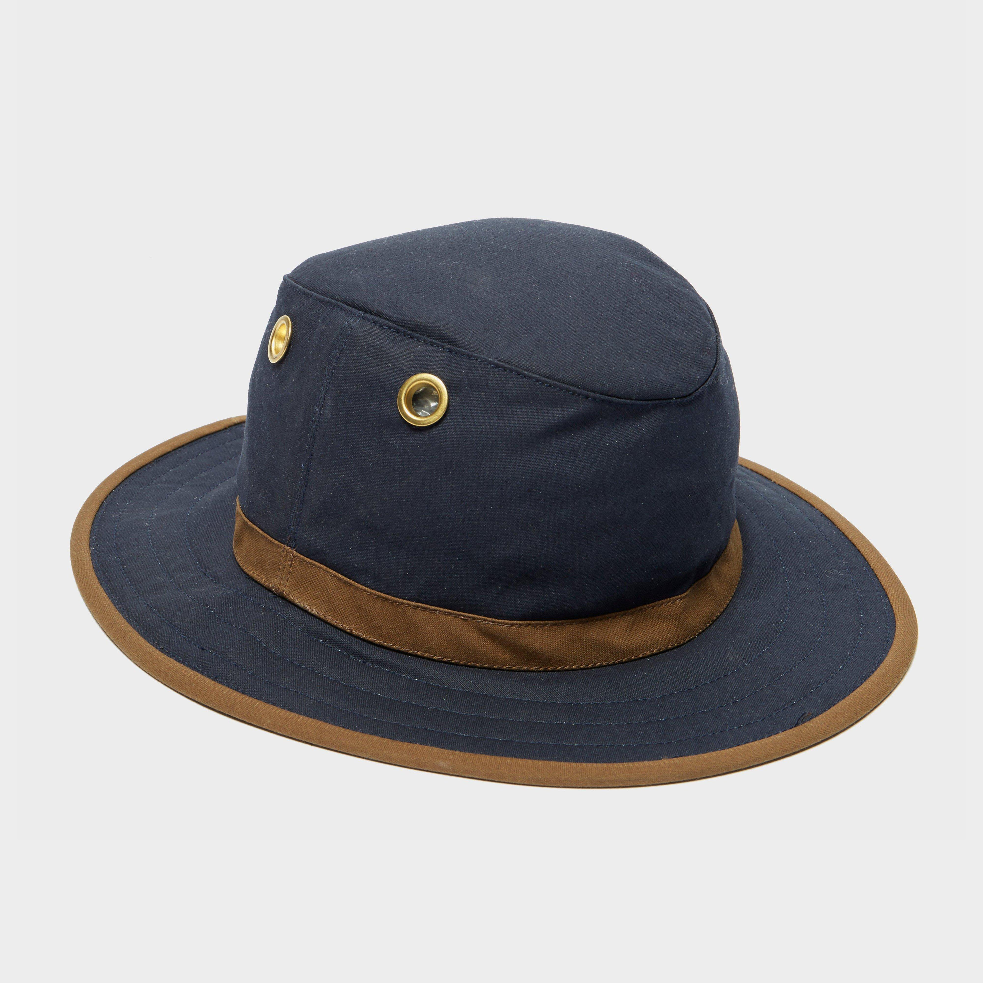 Tilley Tilley Mens TWC7 Outback Waxed Cotton Hat - Navy, Navy
