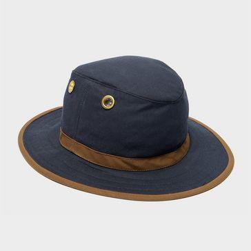 da284c02bce Navy TILLEY TWC7 Outback Waxed Cotton Hat ...