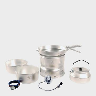 Silver Trangia 25-2 Stove with Gas Burner