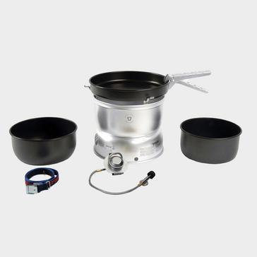 Slate Grey Trangia Trangia 27-5 Non-Stick Pans with Gas Burner