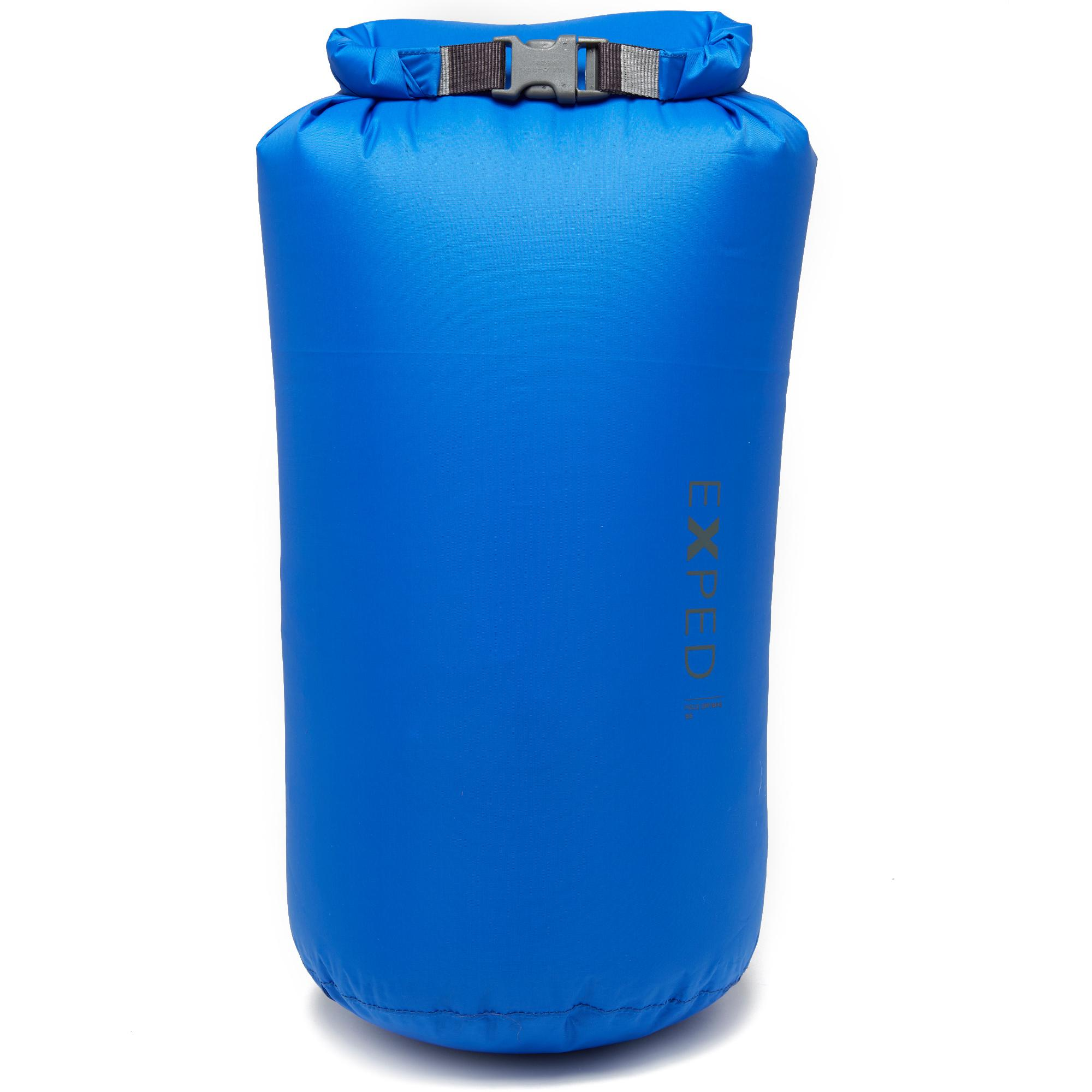 Exped Expedition 13L Dry Fold Bag - Blue, Blue