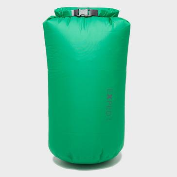 Green EXPED Expedition 22L Dry Fold Bag