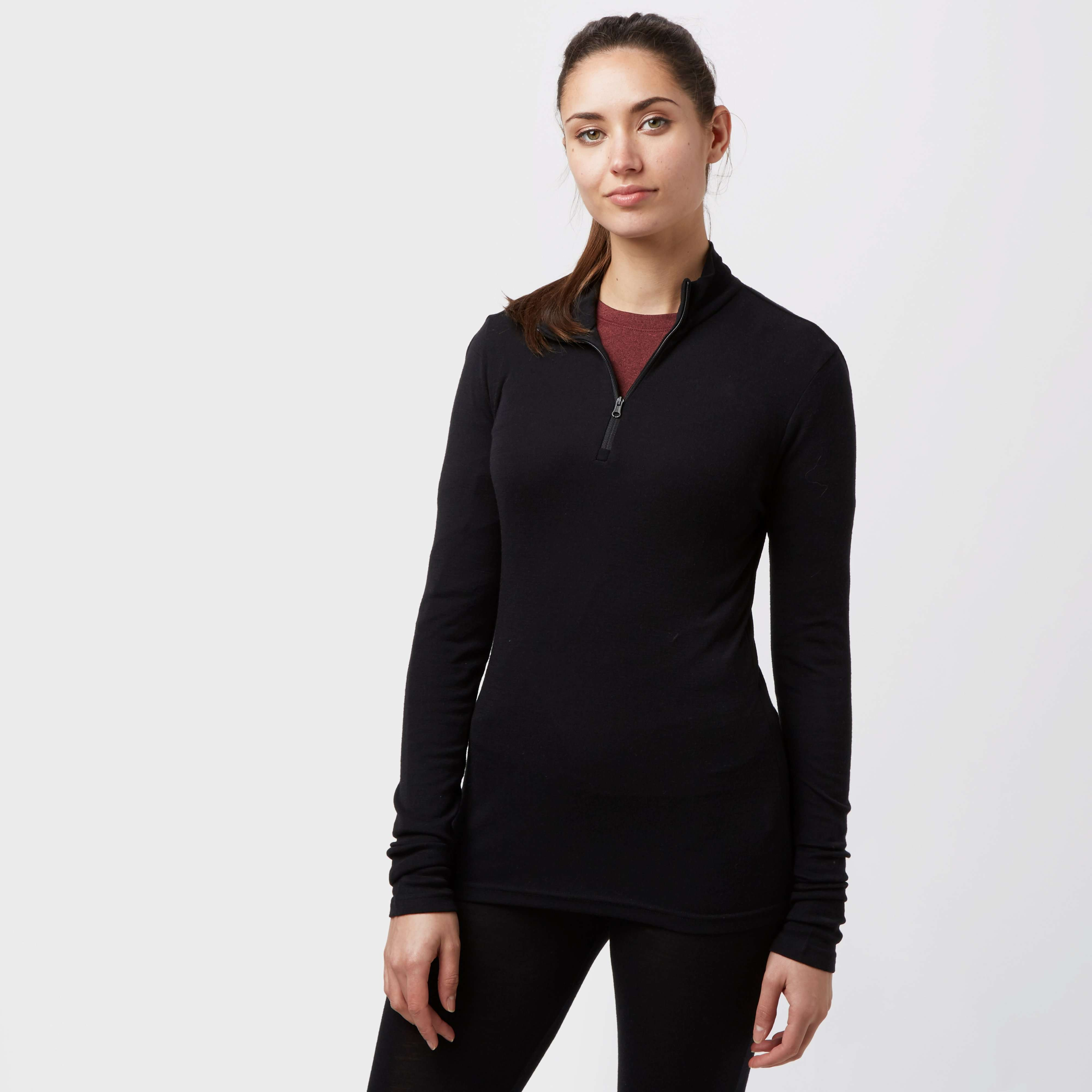 ICEBREAKER Women's Everyday Long Sleeve Half-Zip Baselayer