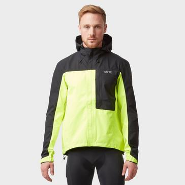 Yellow Gore Men's C3 GORE-TEX® Paclite® Hooded Waterproof