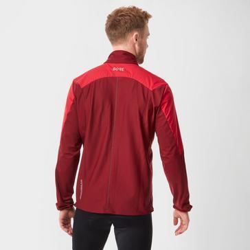 Red Gore Men's R5 Gore® Windstopper Light Long Sleeve Shirt