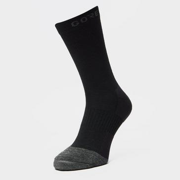 Black Gore Men's Thermo Mid Socks