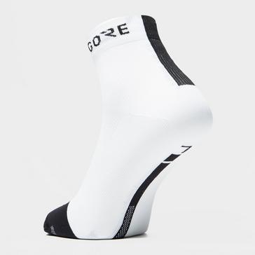 White Gore Men's Light Mid Sock