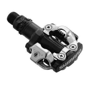 Black Bontrager M520 Mountain Bike SPD Pedals
