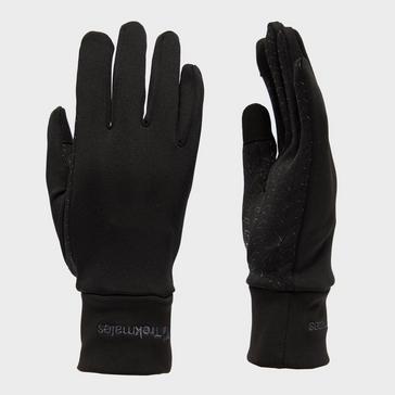 Black Trekmates Women's Touchscreen Grip Gloves