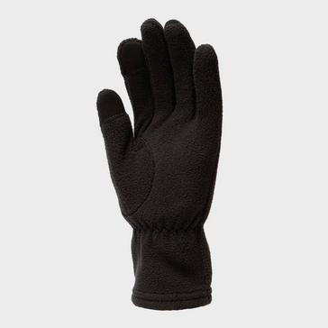 Black Trekmates Women's Touchscreen Fleece Glove