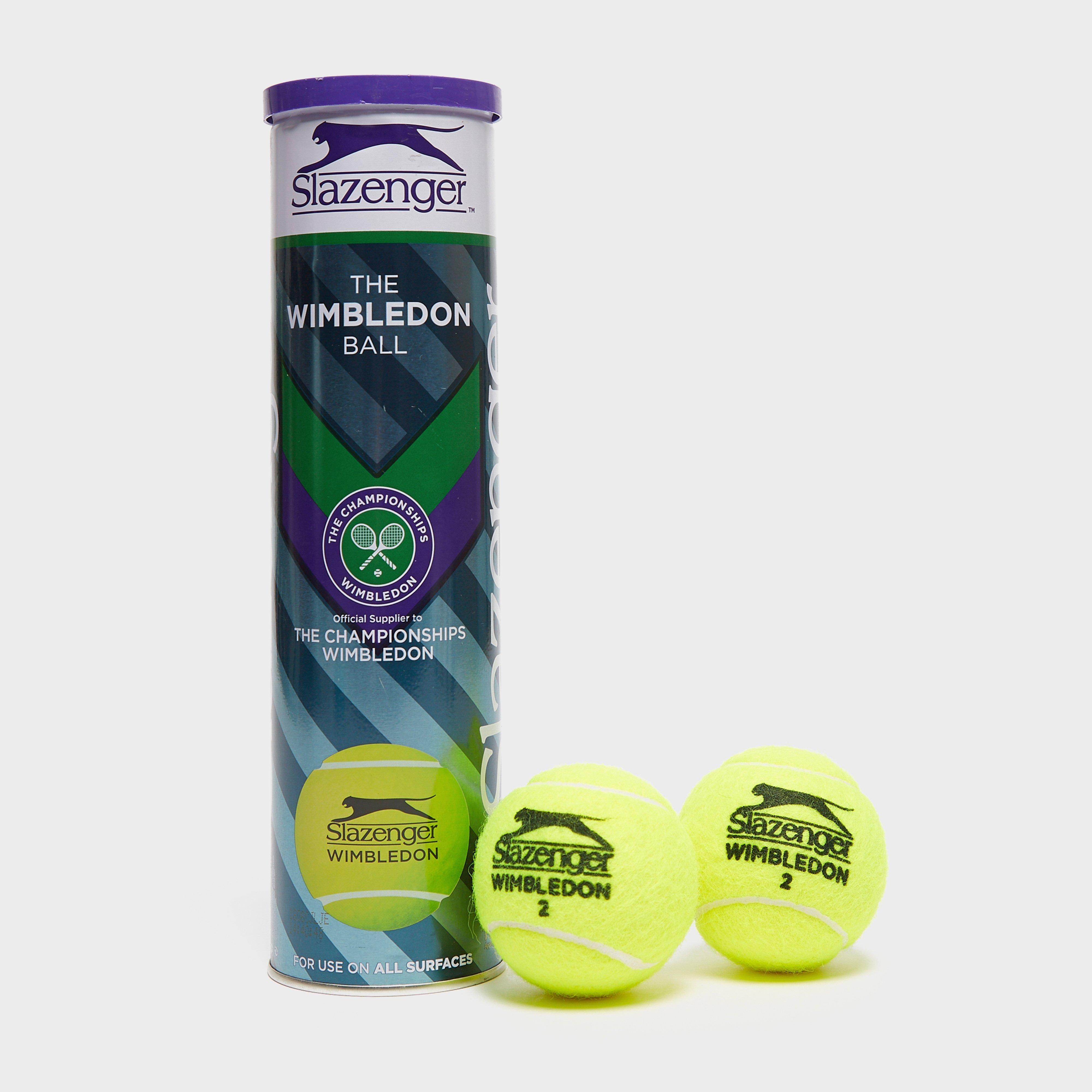 Dunlop Dunlop Wimbledon 2018 Tennis Balls, Green