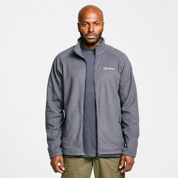 Grey|Grey Berghaus Men's Hartsop Full-Zip Fleece