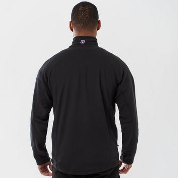 Black Berghaus Men's Hartsop Full-Zip Fleece