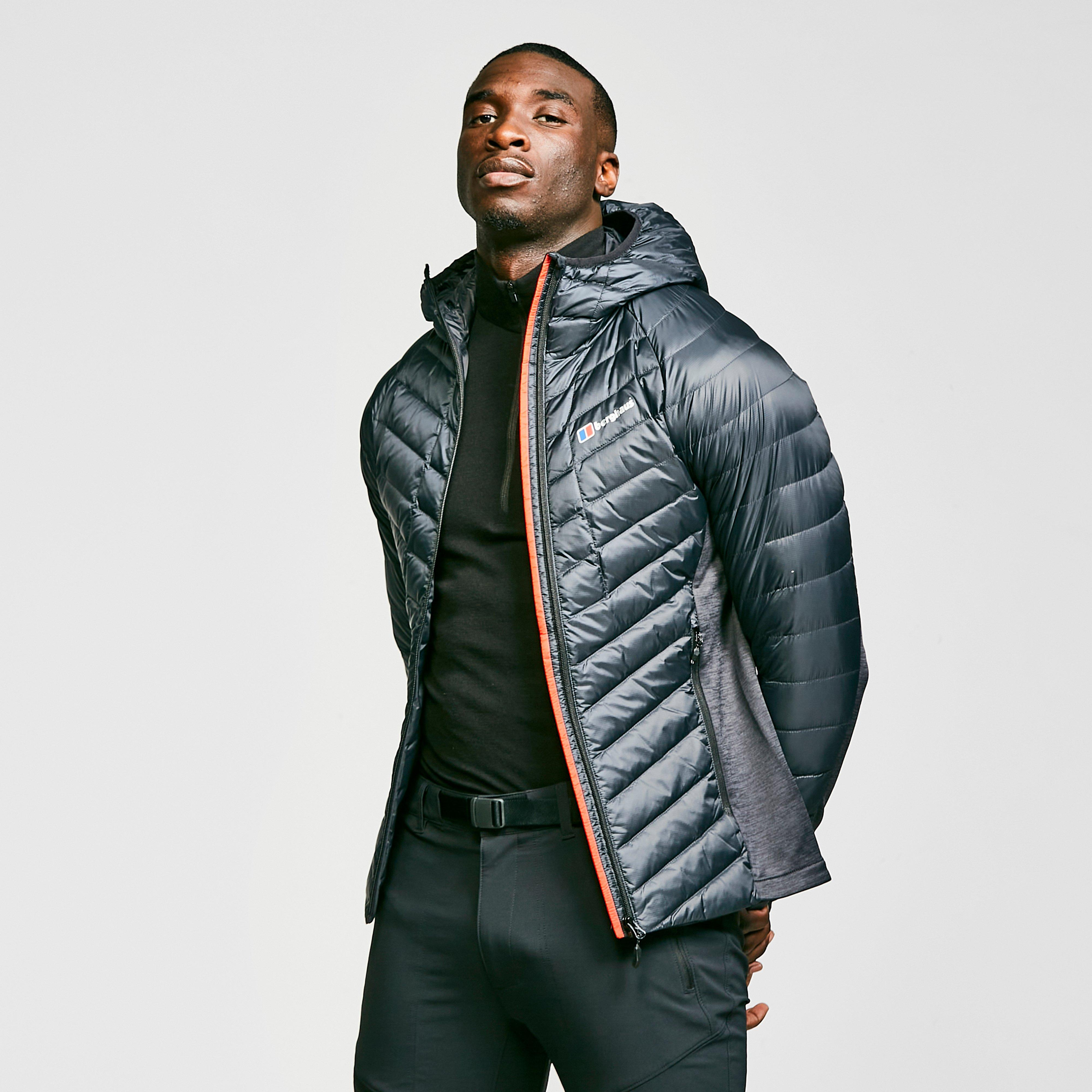 competitive price 437c2 0ad59 Men's Finsler Stretch Hooded Down Jacket