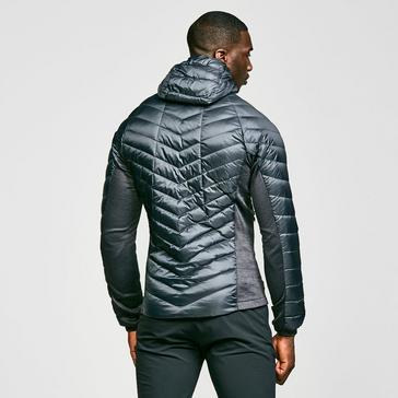 Dark Grey Berghaus Men's Finsler Stretch Hooded Down Jacket