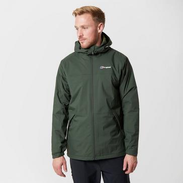 Dark Green Berghaus Men's Stormcloud Insulated Jacket