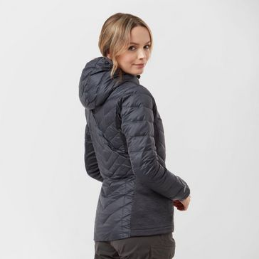 95946263a01a5 Dark Grey BERGHAUS Women's Finsler Stretch Hooded Down Jacket ...
