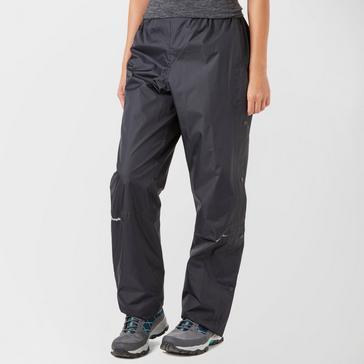 Black Berghaus Stormcloud Waterproof Overtrousers