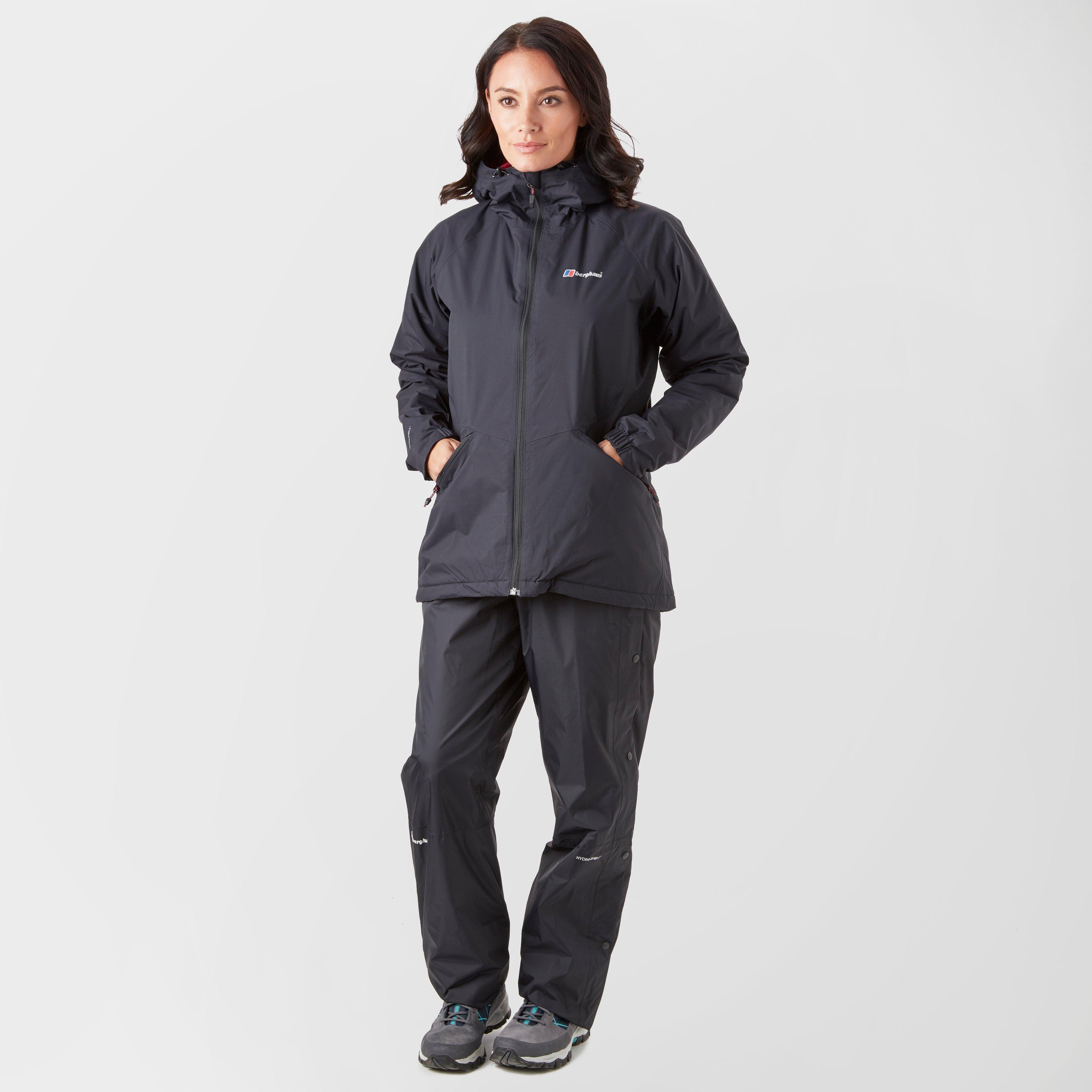 10 S Berghaus Stormcloud Waterproof Overtrousers Black
