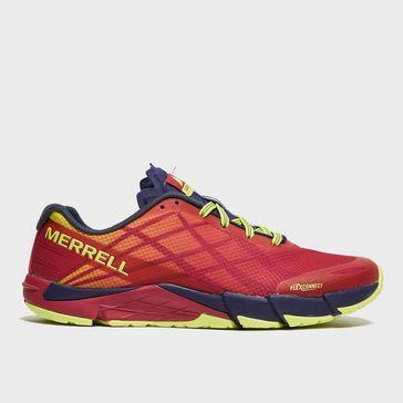 1787449dfff1 Red MERRELL Women s Bare Access Flex Running Shoe ...