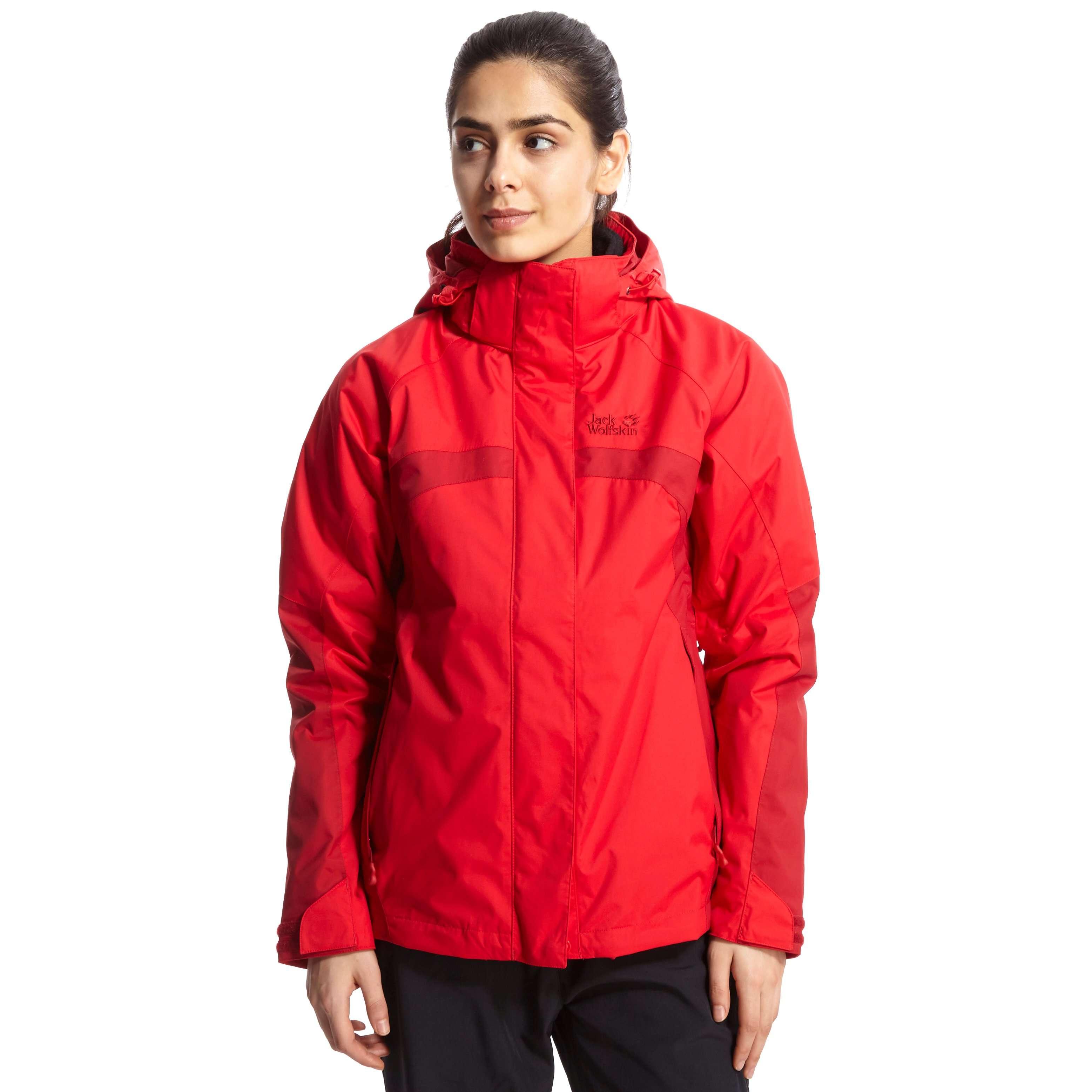 JACK WOLFSKIN Women's Feel 3 in 1 Texapore Jacket