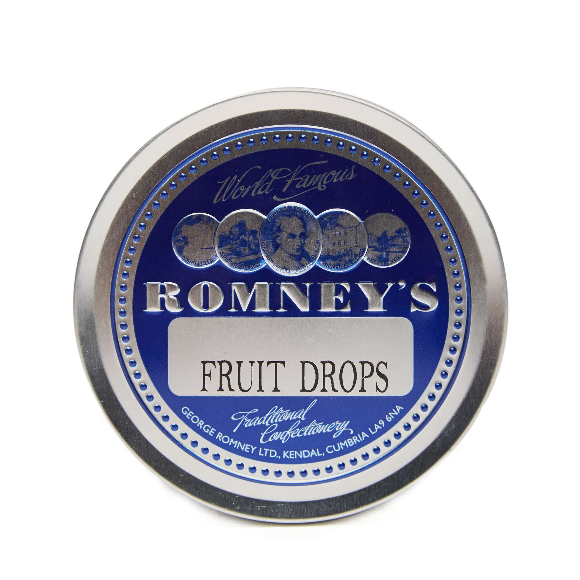 ROMNEYS Travel Tin Fruit Drops