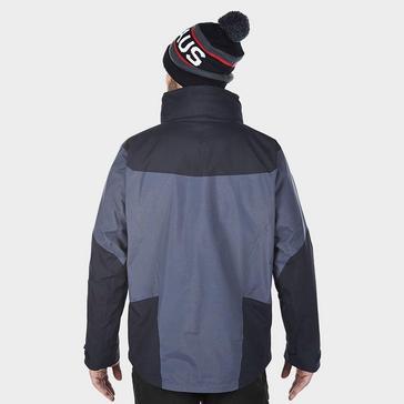 Grey|Grey Berghaus Men's Arran 3 in 1 Jacket