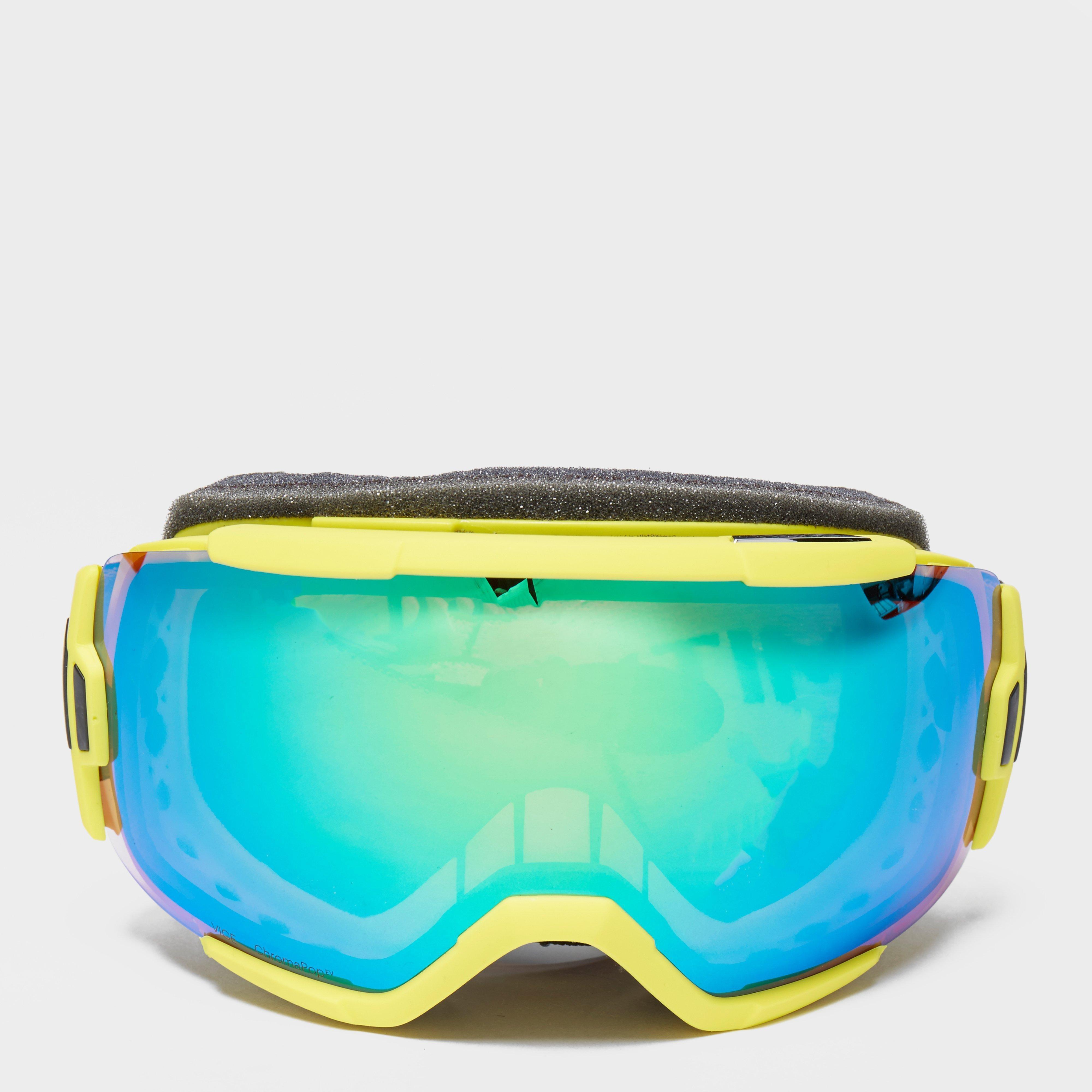 Smith Smith Mens Vice Ski Goggles - Yellow, Yellow