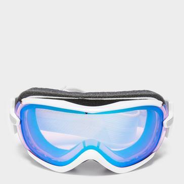 White SMITH Women's Virtue Ski Goggles