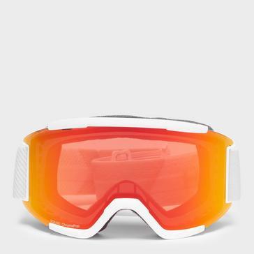 White SMITH Men's Squad Ski Goggles