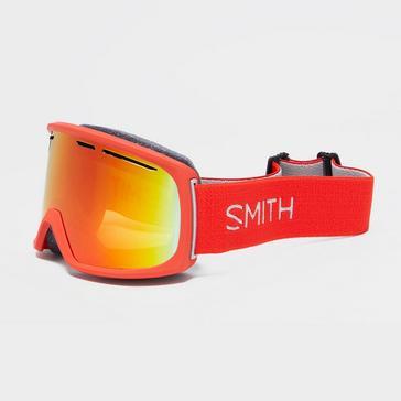 Red SMITH Men's Range Ski Goggles