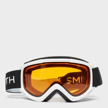 White SMITH Cascade Classic Snow Goggles