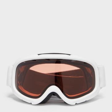 White SMITH Kid's Gambler Air Ski Goggles