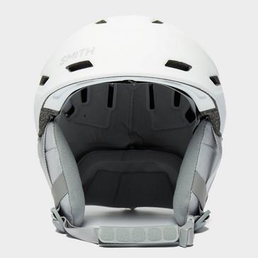white SMITH Women's Mirage Ski Helmet