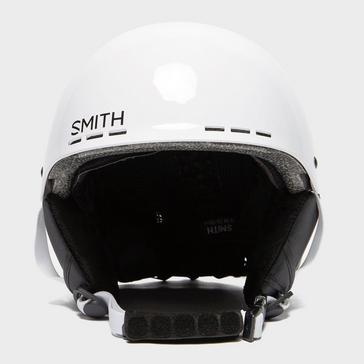 White SMITH Kids' Holt Ski Helmet