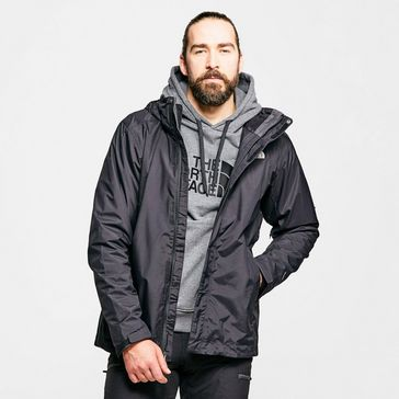 69d8c9092dd Black THE NORTH FACE Men's Evolution II Triclimate 3 in 1 Jacket ...
