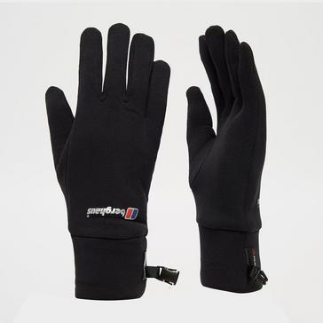 Black Berghaus Power Stretch Gloves
