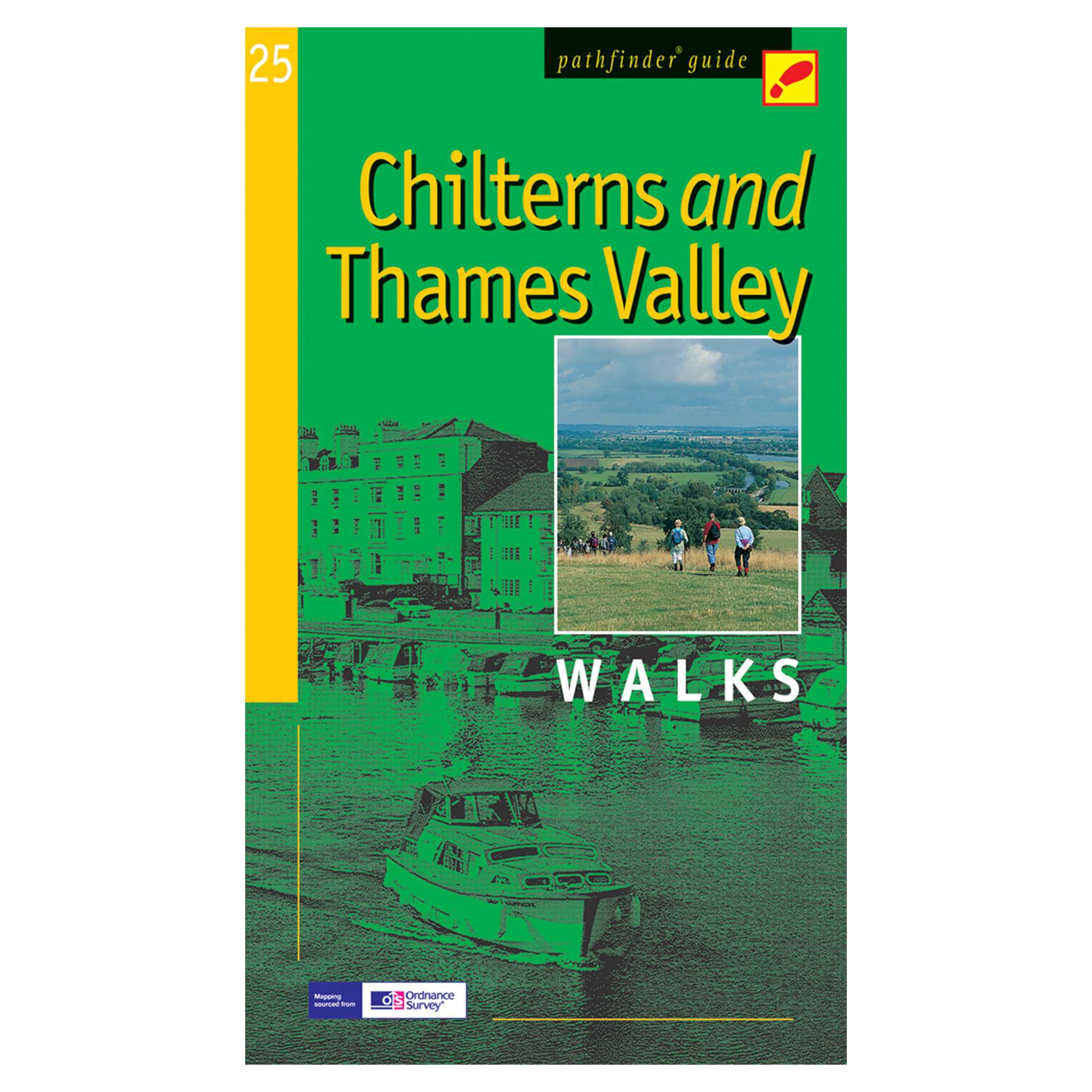 PATHFINDER Chilterns and Thames Valley Walks Guide