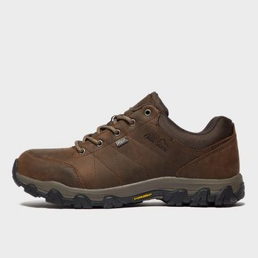 2d615525a5e7 Brown PETER STORM Men s Lindale Waterproof Walking Shoe ...