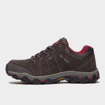 Grey|Grey Peter Storm Women's Silverdale Waterproof Walking Shoe