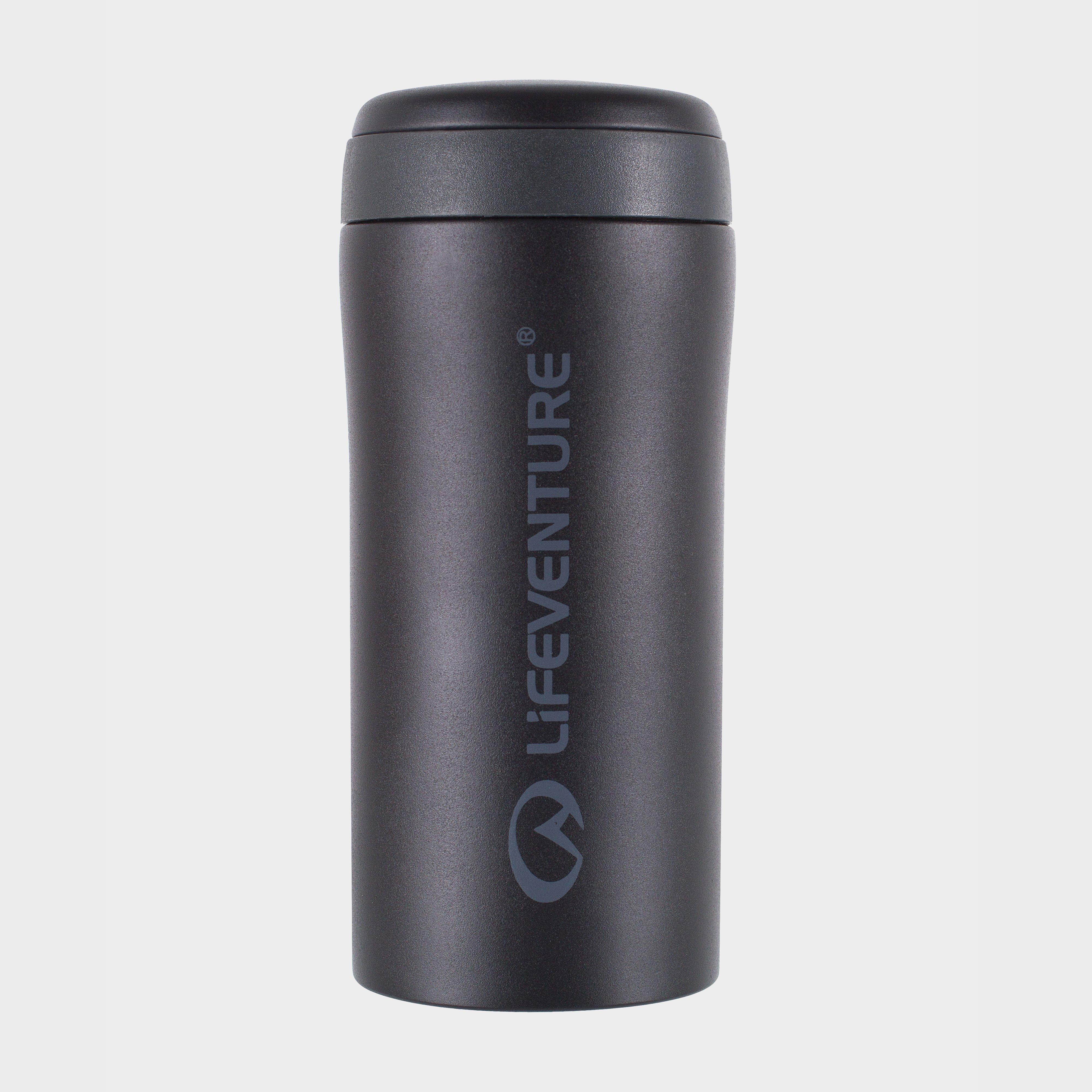 Lifeventure Lifeventure Thermal Mug - Black, Black