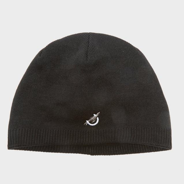 40a50f216ca Black SEALSKINZ Waterproof Knitted Beanie Hat image 1